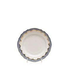 Herend - Fishscale Light Blue Bread & Butter Plate