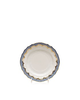 Herend - Fishscale Light Blue Bread & Butter Plate