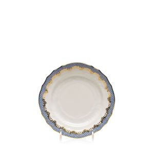 Herend Fishscale Light Blue Bread & Butter Plate