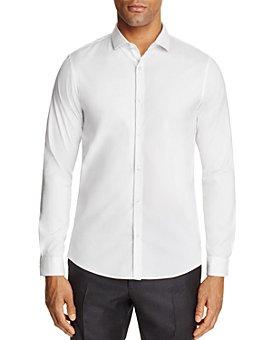 Michael Kors - Stretch Cotton Slim Fit Button-Down Shirt