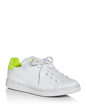 Adidas Women's Stan Smith Primeknit Lace Up Sneakers