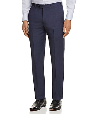 Armani Collezioni Micro Print Regular Fit Dress Pants