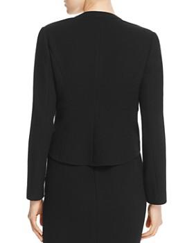 Armani Collezioni - Pointed-Hem Wool Jacket