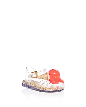 Mini Melissa Girls' Mini Aranha Sandals - Walker, Toddler