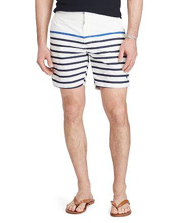 Polo Ralph Lauren - Monaco Stripe Regular Fit Trunks