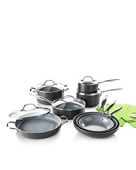 GreenPan - Valencia Pro 13-Piece Cookware Set + Bonus - 100% Exclusive