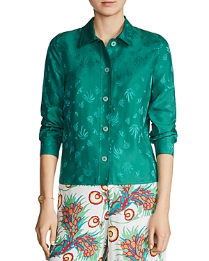 Maje Cawane Embroidered Shirt