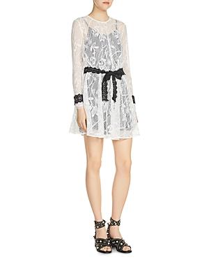 Maje Rogette Lace Dress