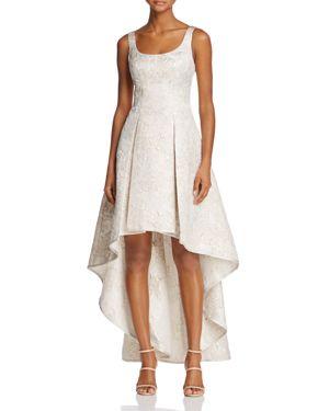 Aqua Sleeveless Jacquard High/Low Dress - 100% Exclusive