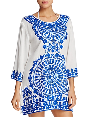 Ella Moss Moonlight Tunic Swim Cover-Up