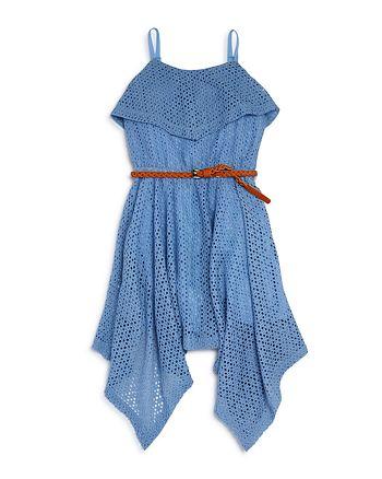 Bardot Junior - Girls' Belted Dress - Little Kid, Big Kid