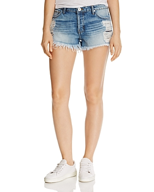 Band of Gypsies Distressed Denim Shorts