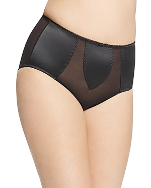 Dita Von Teese Sheer Witchery Satin Control Brief