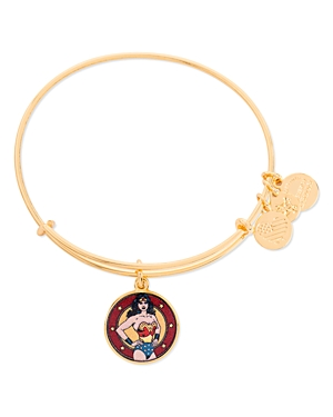 Alex and Ani Wonder Woman Charm Bracelet