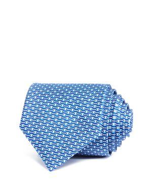 Salvatore Ferragamo Connected Gancini Buckle Classic Tie