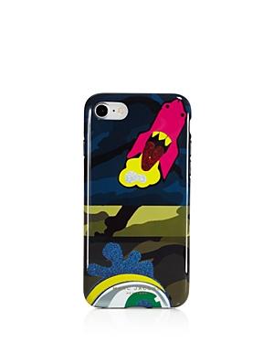 marc jacobs female marc jacobs julie verhoeven camo print iphone 7 case