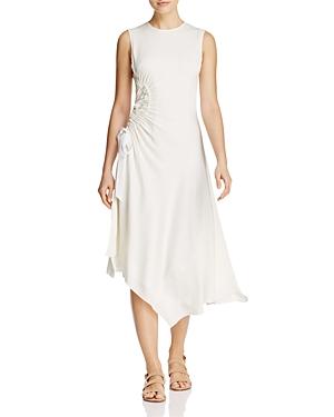 Elizabeth and James Martha Ruched Silk Dress