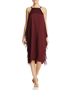 Elizabeth and James Loma Ruffle-Trimmed Midi Dress