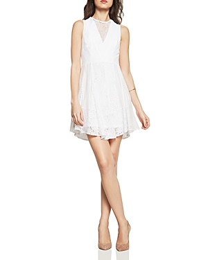 BCBGeneration Mixed Lace Dress
