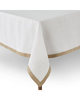 "Matouk - Border Tablecloth, 70"" x 108"""