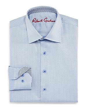 Robert Graham Boys Barry Dress Shirt  Big Kid
