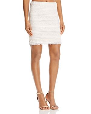 Aqua Lace Pencil Skirt - 100% Exclusive