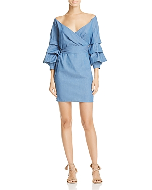 Do and Be Chambray Wrap Shirting Dress - 100% Exclusive