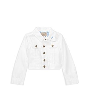 Ralph Lauren Childrenswear Girls' Embroidered Denim Jacket - Little Kid