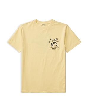Ralph Lauren Childrenswear Boys' Jersey Graphic Tee - Big Kid