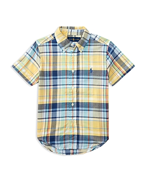 Ralph Lauren Childrenswear Boys' Madras Button-Down Shirt - Little Kid