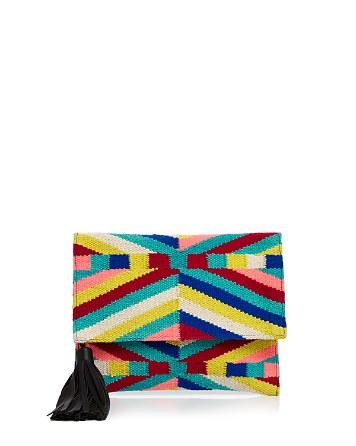 $Rebecca Minkoff Wonderland Foldover Clutch - Bloomingdale's