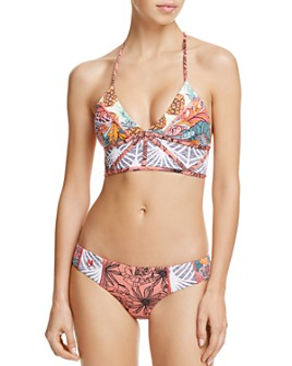 Maaji - Dance Fever Reversible Triangle Bikini Top & Dance Fever Reversible Bikini Bottom