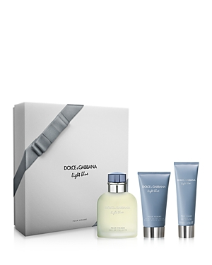 Dolce & Gabanna Light Blue Pour Homme Eau de Toilette 3-Piece Gift Set