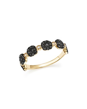 Bloomingdale's - Diamond Micro Pavé Stacking Band in 14K Gold - 100% Exclusive