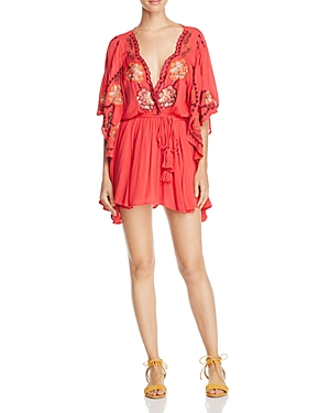 Free People Cora Embroidered Dress