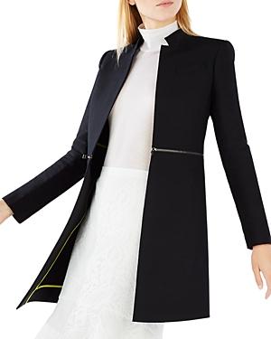 Bcbgmaxazria Arelia Zip Waist A-Line Jacket