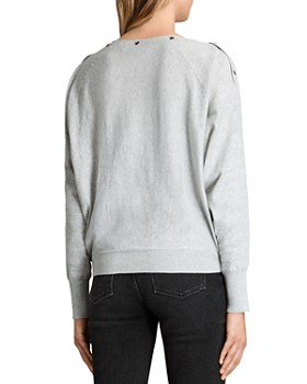 ALLSAINTS - Elle Snap-Detail Sweater