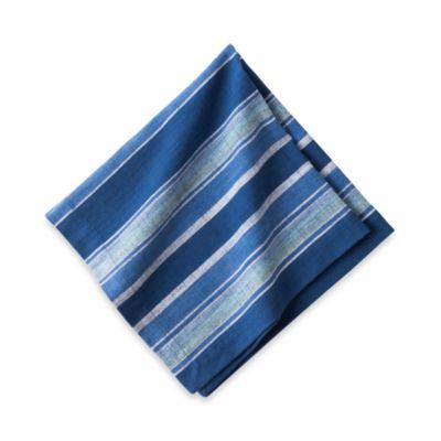$Juliska Indigo Stripe Napkin - Bloomingdale's