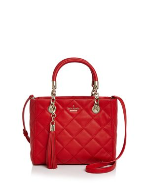 kate spade new york Emerson Place Lyanna Quilted Leather Satchel 2607109