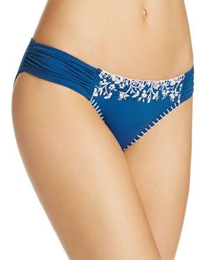 Lucky Brand Stitch In Time Side Sash Bikini Bottom