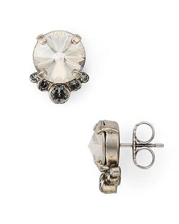 Sorrelli - Swarovski Crystal Stud Earrings