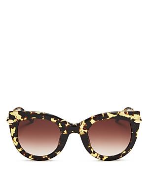 Women's Laveau 24K Gradient Cat Eye Sunglasses