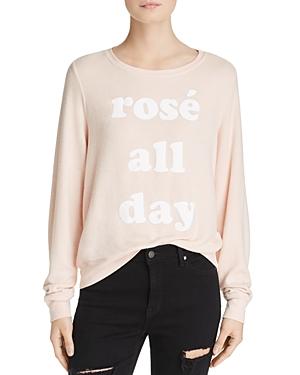 Dream Scene Rose All Day Pullover
