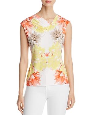 Calvin Klein Floral V-Neck Top
