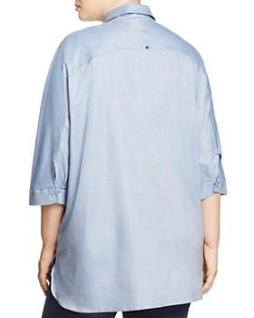 Marina Rinaldi - Bach Oversized Chambray Shirt