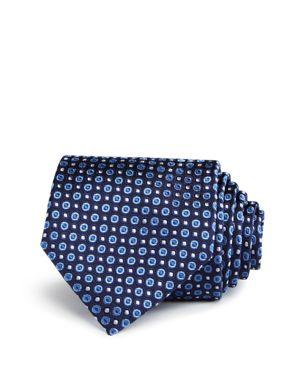 John Varvatos Star Usa Circle Dot Neat Classic Tie