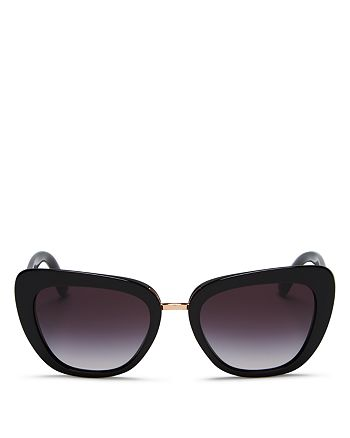 Dolce&Gabbana - Women's Gradient Butterfly Sunglasses, 53mm