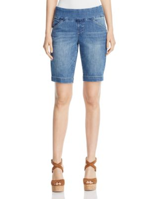 AINSLEY BERMUDA SHORTS IN WEATHERED BLUE