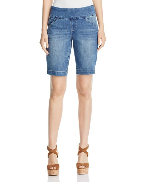 JAG Jeans - Ainsley Bermuda Shorts in Weathered Blue
