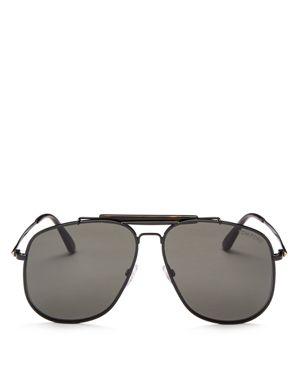Tom Ford Connor Aviator Sunglasses, 58mm